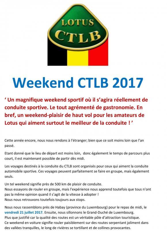 Presentation weekend 2017 ctlb 1