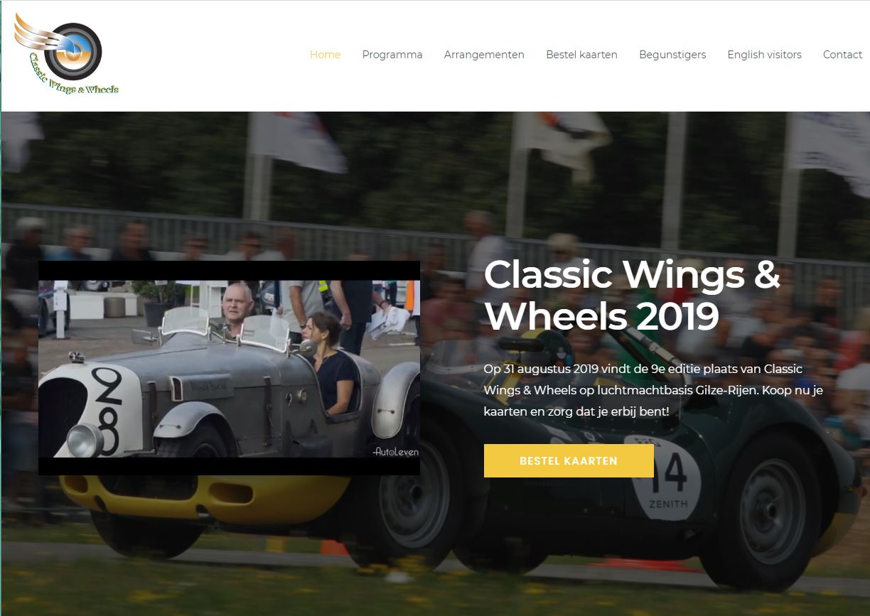Classic wings and wheels 2019