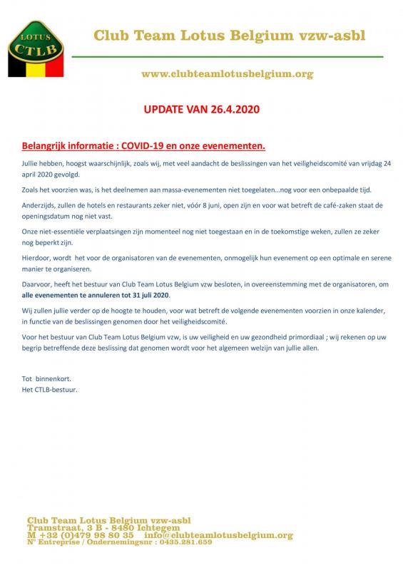 Covid19 update 2 nl