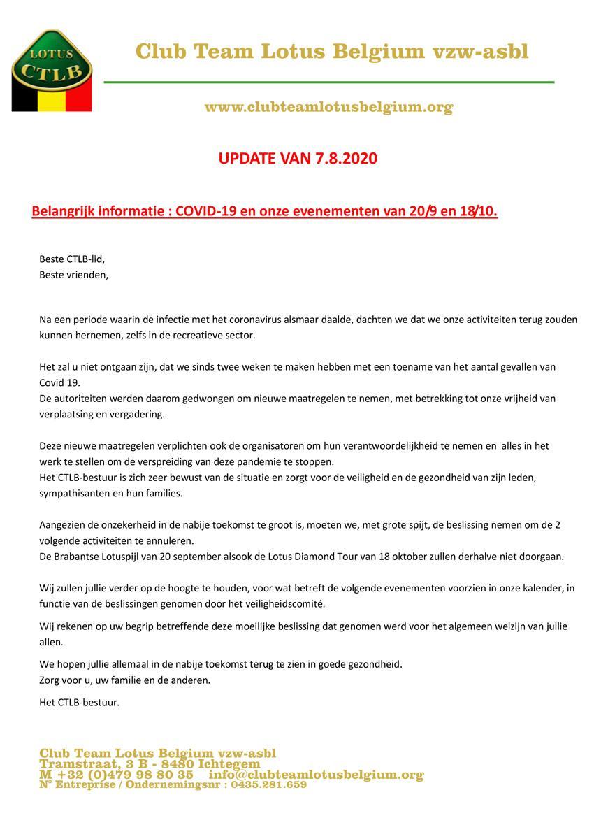 Covid19 update 3nl