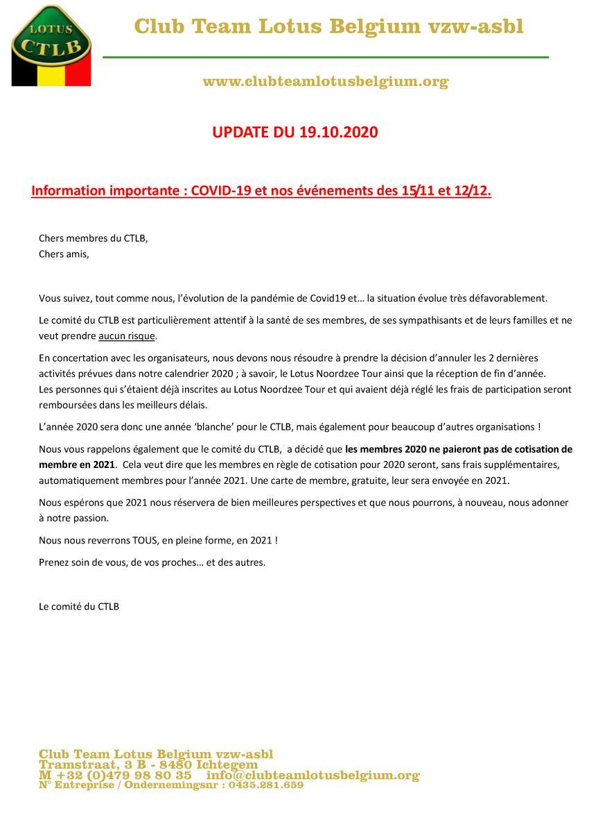 Covid19 update 4
