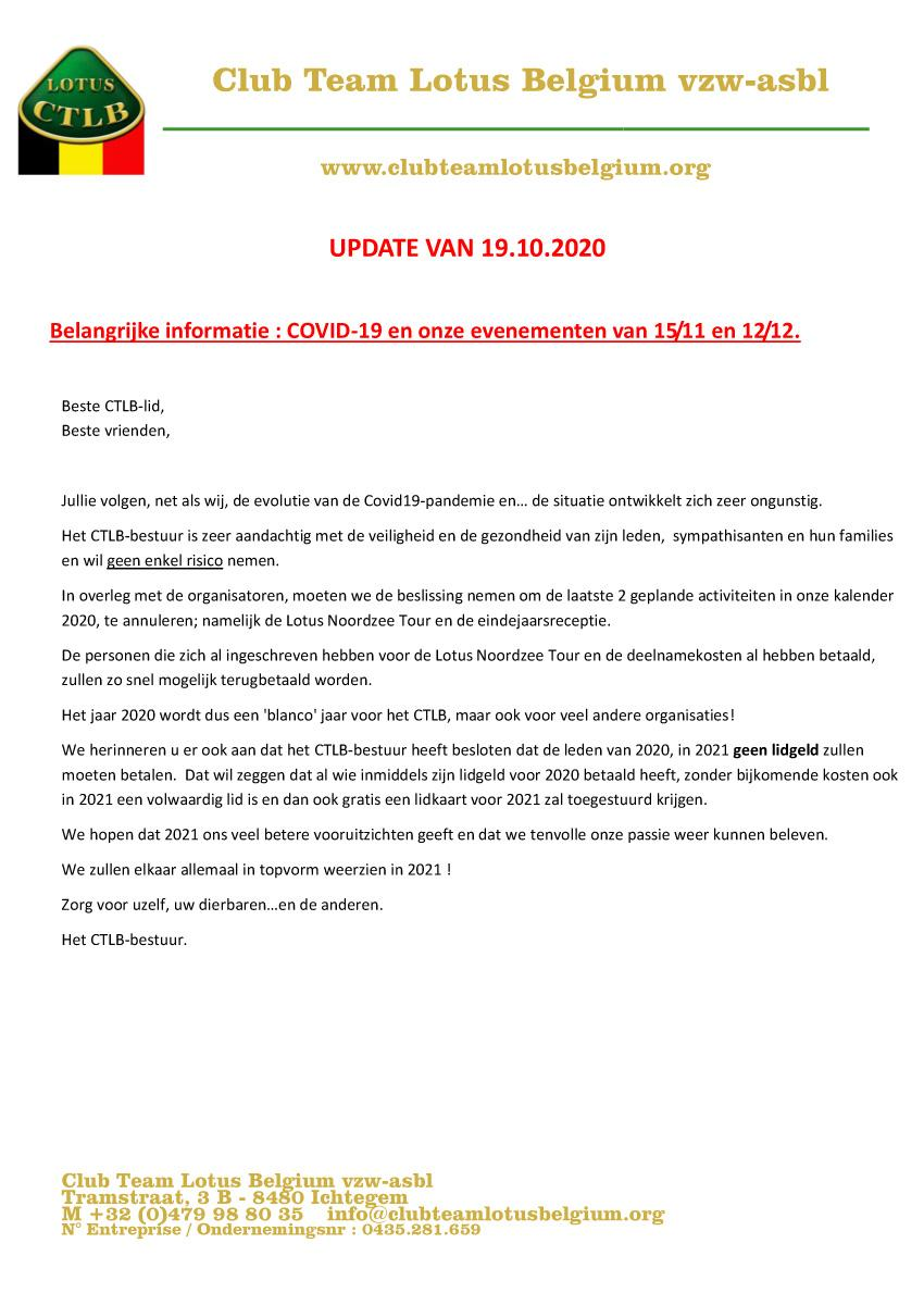 Covid19 update 4nl