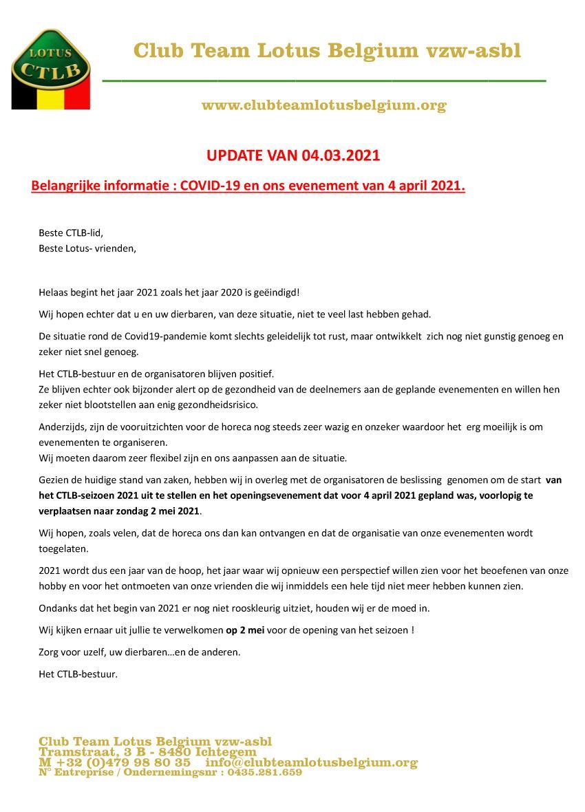 Covid19 update 5nl