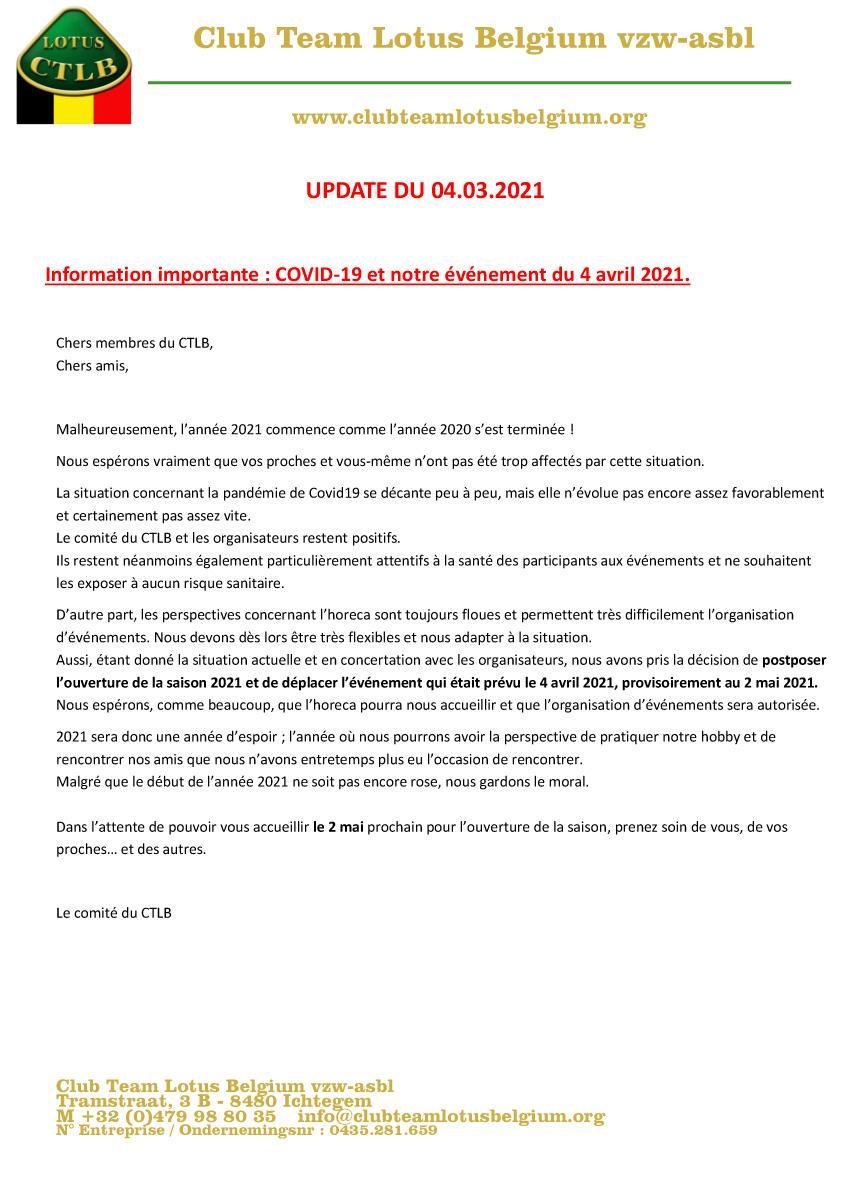 Covid19 update 6